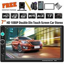 7In Double 7023B 2 DIN Car Stereo FM Radio MP5 Player TouchScreen AUX USB US HOT
