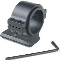 "25.4mm 1"" 30mm Ring 20mm Weaver Barrel Mount Rail Adapter for Scope Light LE"