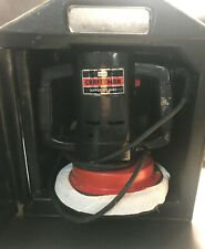 Sears Craftsman Buffer Polisher Double Insulated Model 315.10670 W/ Case
