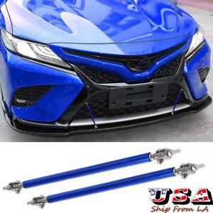 Adjustable Bumper Lip Splitter Spoiler Strut Rod Tie Support Bars for Toyota