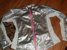 windbreaker anorak jacket athletic ~ Victoria's secret VSX ~  large