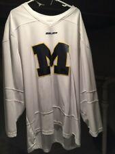 Xl Bauer Game Worn Michigan Wolverenes (Practice )Hockey Jersey