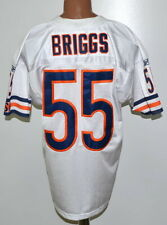 NFL CHICAGO BEARS AUTHENTIC AMERICAN FOOTBALL SHIRT #55 BRIGGS REEBOK SIZE L