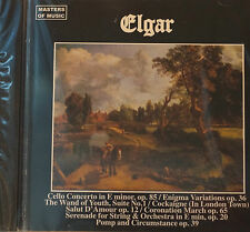 Masters of Music Elgar Selections CD Mint Order 12 Trks  New 65 mins Duet 1995