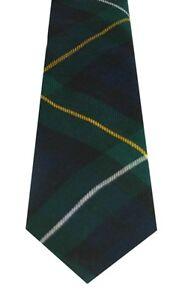 CAMPBELL OF LOUDEN MODERN TARTAN  PURE WOOL TIE by LOCHCARRON of SCOTLAND