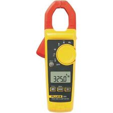 Fluke 325 40/400A AC/DC, 600V AC/DC TRMS Clamp Meter w/ Frequency & Temperature