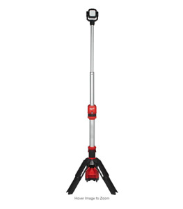 Milwaukee M12 ROCKET LED Stand Work Light 12 Volt Cordless 1400 Lumen 2132-20