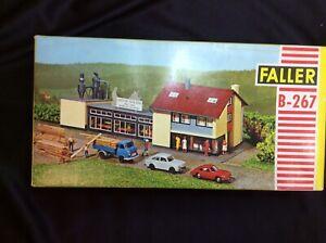 Faller Vintage HO Building Kit Wood Cabinet Maker Factory