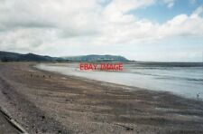 PHOTO  1988 SOMERSET BLUE ANCHOR BAY LOOKING TOWARDS MINEHEAD ON THE DISTANT PRO