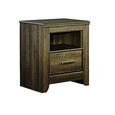 Signature Design by Ashley B251-91 Juararo One Drawer Night Stand Dark Brown
