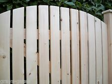 'Closely Slatted' CUSTOM MADE Planed Smooth Wooden Garden Pedestrian Side Gates