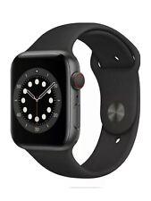 Apple Watch Series 6 44mmSpace Gray CaseBlack Band GPS + Cellular Pristine✅🌟