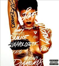 RIHANNA Unapologetic Deluxe Edition CD/DVD BRAND NEW NTSC ALL