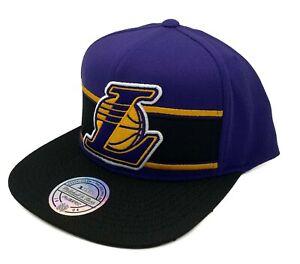 Los Angeles Lakers Mitchell & Ness Eredita 110 Adjustable Snapback Cap Hat