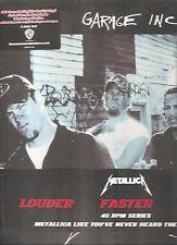 "METALLICA ""Garage Inc."" 6LP 45 RPM 180g VINYL-BOX audiophile sealed"