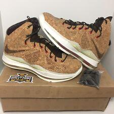 3128eab760b12 Nike Lebron X 10 EXT Cork QS classic brown university (Size 8.5) Cavaliers  Heat