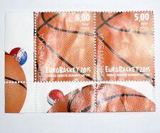 FIBA EUROPEAN BASKETBALL CHAMPIONSHIP FOR MEN 2015 CROATIA HRVATSKA Set Stamps