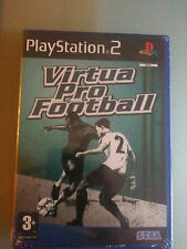 VIRTUA PRO FOOTBALL  NUOVO SIGILLATO ITALIANO PS2