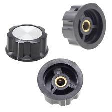 Hot!5PCS Adjustable 6mm Knurled Shaft Potentiometer Volume Control Rotary Knobs