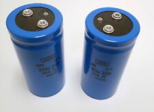 LOT OF 2 NIPPON CHEMI-CON 36DX991F350BC2A 990uf 350v, 85°C CAPS BRAND NEW!