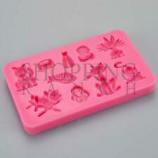 Cat Fish Paw Print Silicone Mould Cupcake Topper Chocolate Cupcake Toppers