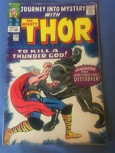 JOURNEY INTO MYSTERY #118, THOR, SILVER AGE MARVEL COMICS 1965