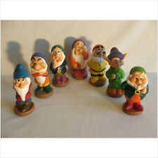 LATEX MOULD MOULDS MOLD.       THE 7 DWARVES.   5 INCHES TALL