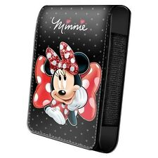 BAGAGERIE : HOUSSE TELEPHONE PORTABLE 13 X 7 CM DISNEY MINNIE NOEUDS A POIS