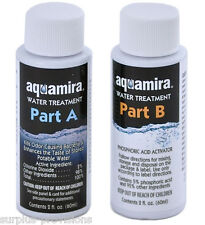 Aquamira Water Treatment Drops - Chlorine Dioxide 2oz Treats 60 Gallons of Water