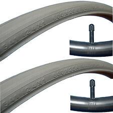 1 Paar Rollstuhl Reifen + Schlauch Leichtlauf 24 x 1 , 600x25A, 25-540/41 TOP