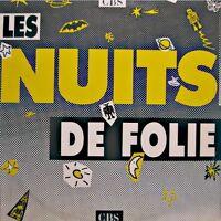 LES NUITS DE FOLIE dutronc/midnight oil/george michael/goldman 2LP'S PROMO CBS++