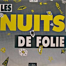 LES NUITS DE FOLIE dutronc/midnight oil/george michael/goldman 2LP'S PROMO CBS++