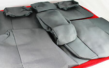 TOYOTA PRADO 150 SERIES SEAT COVERS 2ND ROW GX GXL GREY FROM AUG 2009> GENUINE