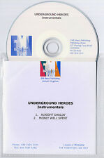 UNDERGROUND HEROES Alright Darlin Instrumentals UK 2-trk promo CD