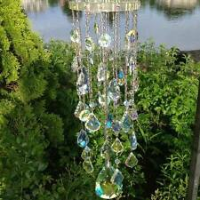 NEW RARE KIRKS FOLLY FAIRY QUEEN CRYSTAL AB WIND CHIME 2012- ORIGINAL ISSUE