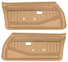 1978-81 Camaro Firebird Trans Am Front Door Panels Pre-Assembled PUI Camel Tan
