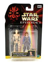 Star Wars Episode 1 - Padme Naberrie with Bonus Battle Droid Action Figure Set