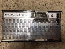 Vintage Silvertone 7 Transistor Radio