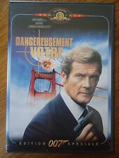 DVD * DANGEREUSEMENT VOTRE * Roger MOORE JAMES BOND 007 edition spéciale