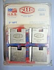 "New REED R12DN2 Dies for 1/2"" Reed / Ridgid Handheld Drophead Threader 05616"