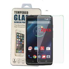 2X 9H Tempered Glass Screen Protector for Motorola Droid Turbo 1G XT1254 Verizon
