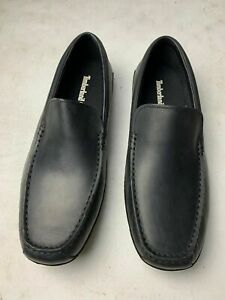 Timberland Onuma Driver Black Leather Men's Slip On Loafers  6516A   SIZE 13