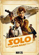 Poster A3 Han Solo A Star Wars Story Qira Chewbacca Lando Calrissian Becknett 03