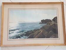 Georges castelli peintre bord de mer peinture. G.Castelli seaside painting