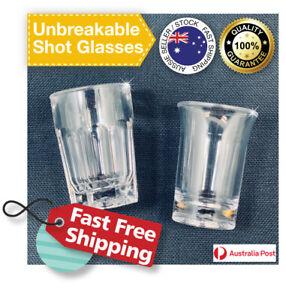 Shot Glasses Premium Quality, Unbreakable Polycarbonate 25ml