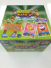 *Topps Moshi Monsters Code Breakers Card Game Booster Box (50 packs)-Value