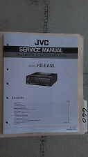 JVC ks-ea5 service manual original repair book stereo car sea eq amp amplifier