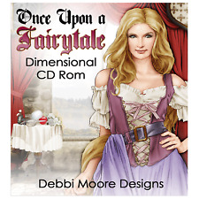 Debbi Moore ~ ONCE UPON A FAVOLA BIDIMENSIONALI CD ROM