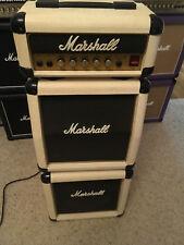 Marshall Lead 12 White Micro Stack Guitar Amp 3005 - Rare ~ Randy Rhoads, 1980's