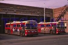 TORONTO TROLLEY BUS SLIDE: TTC 9312 FLYER w/9265 (1983 ORIGINAL)